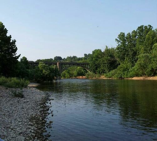 Large field for games and property is on james river for James river fishing report