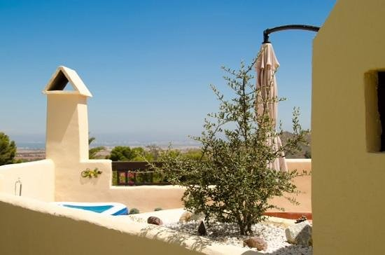 La Manga Club : view from the Villa overlooking the resort to sea.