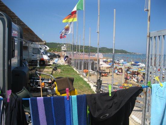 piazzola camper-pasticceria - Foto di Terrazza sul Mare, Vieste ...