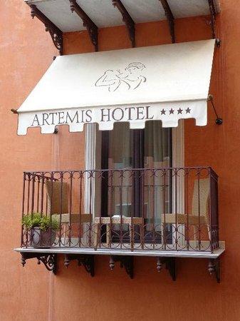 Artemis Hotel : Varanda do quarto