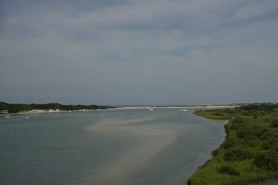Fort Matanzas National Monument: View from the top of the Fort.