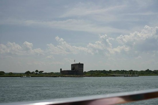 Fort Matanzas National Monument: The Fort from the ferry.