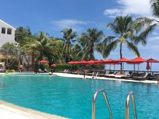 Amari Phuket: view from the sunbed