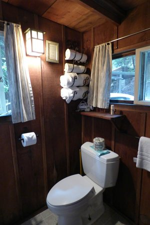Deetjen's Big Sur Inn : The bathroom of Castro Cabin