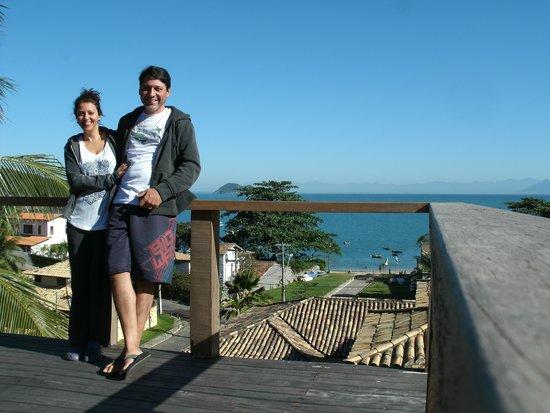 Pousada Praia João Fernandes : Mirante da pousada