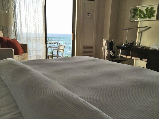 Caribe Hilton San Juan: View from the bed