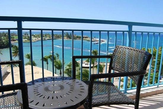 Caribe Hilton San Juan: View from the Balcony step