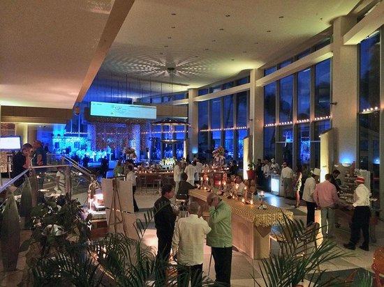 Caribe Hilton San Juan: Piña Colada 50th Anniversary Party 1 day before renovation