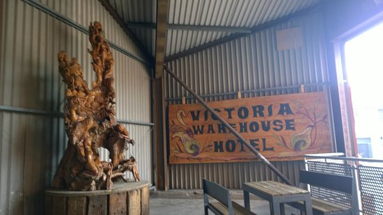Victoria Warehouse Hotel: entrance