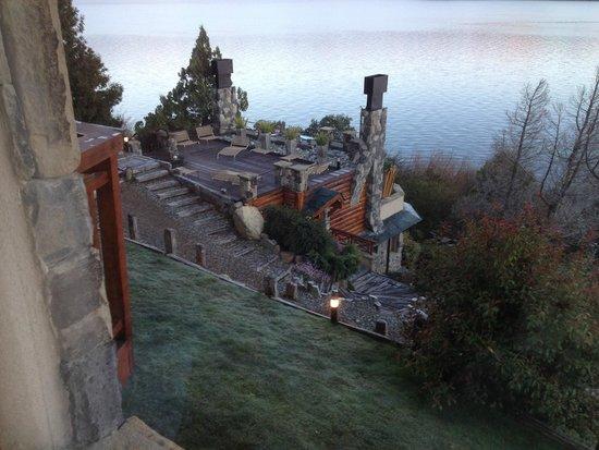 Lirolay Suites: Vista da varanda