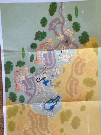 Hyatt Wild Oak Ranch: Property Map