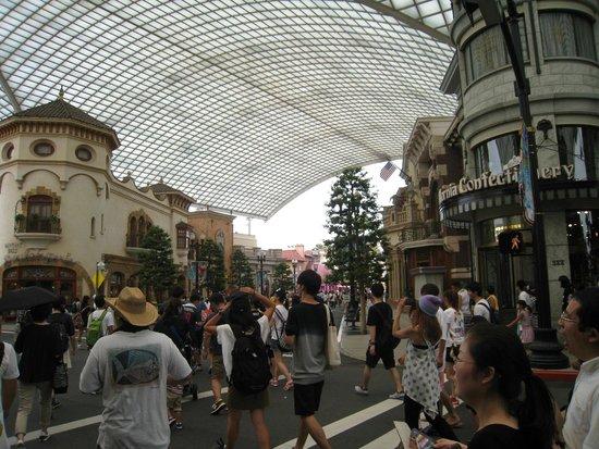 Universal Studios Japan: Ruas da Universal Studios