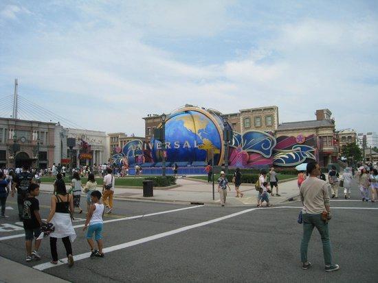 Universal Studios Japan: Famoso globo da Universal Studios