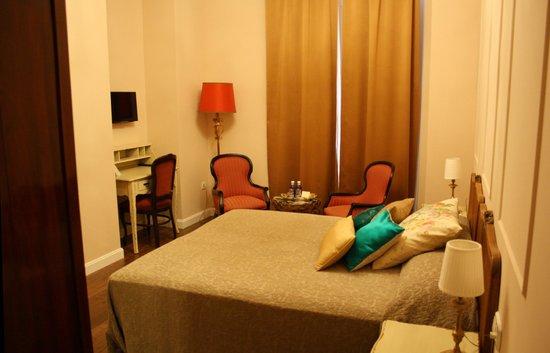La Casa Azul Bed and Breakfast: Habitación Salmón
