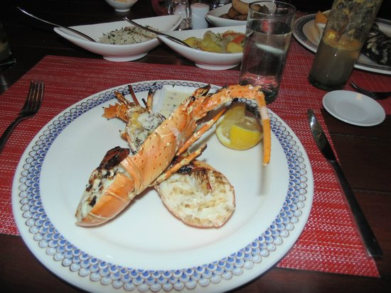 The Oberoi, Mauritius : Grilled lobster