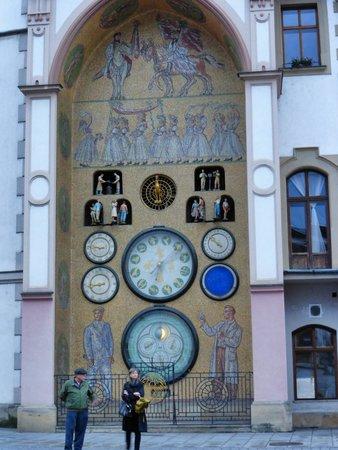 Astronomical Clock: the clock
