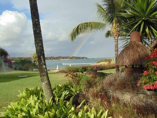 The Oberoi, Mauritius : Backyard of Room 307