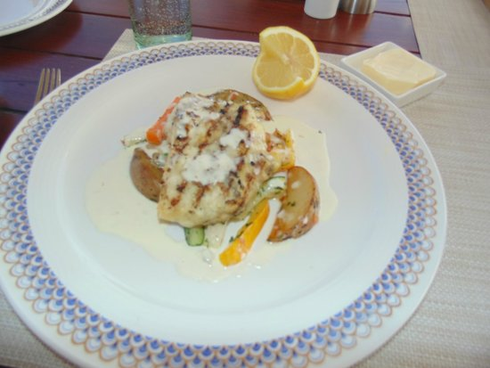 The Oberoi, Mauritius: Red snapper
