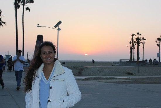 Venice Beach: Por do Sol