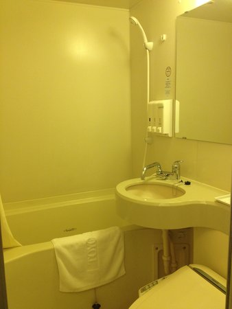 Toyoko Inn Morioka Ekimae : Bathroom