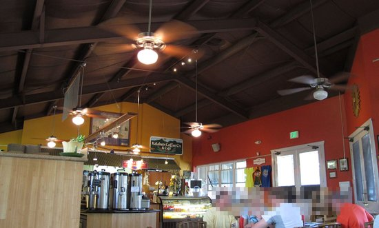 Kalaheo Cafe & Coffee Company: interior