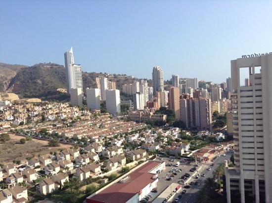 Hotel Levante Club & Spa: view from the 16th floor