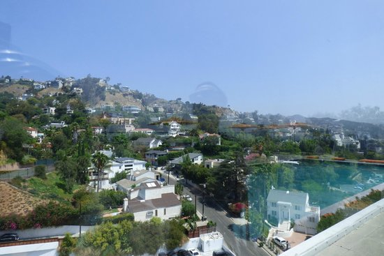 Andaz West Hollywood: The view from the rooftop terrace