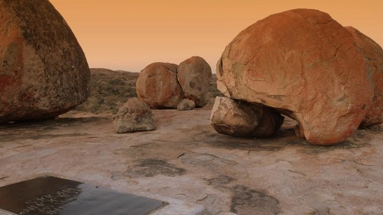 Matobo Hills : Tombe de Cecil RHODES