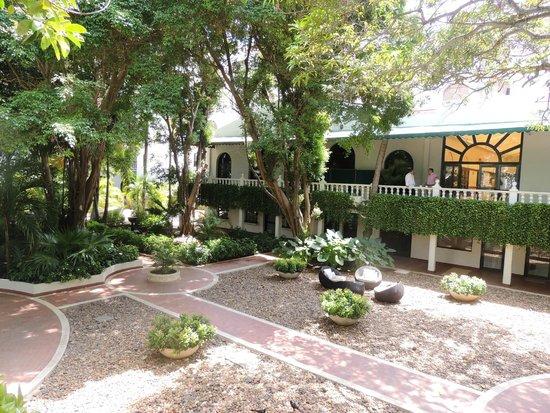 Hotel Caribe : Muita área verde!!!