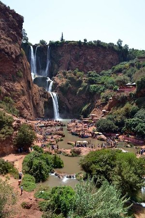 Morocco Vacation Tour: Cascate di Ouzoud