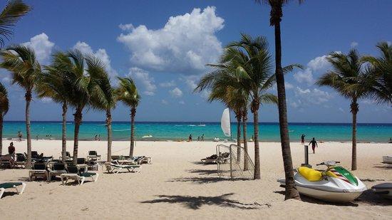 ClubHotel Riu Tequila: La plage