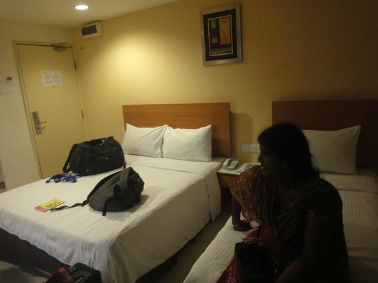 My Hotel at Sentral: The triple room
