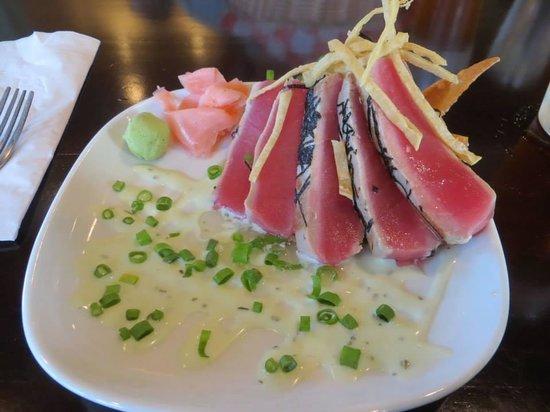 The Cove Restaurant : Ahi Tuna