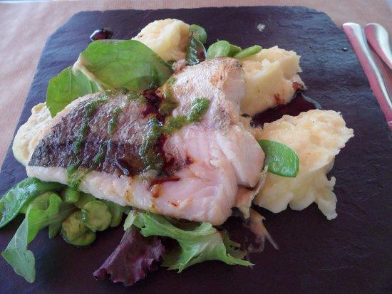 Bodega Koko : Merlu aux légumes, purée de pommes de terre maison