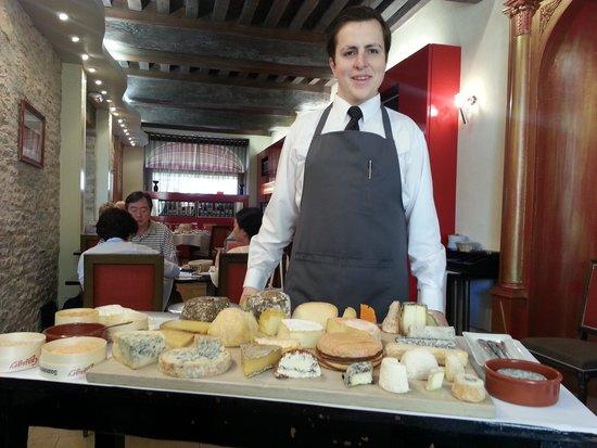 Loiseau des Vignes : le plateau de fromage