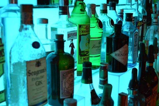Cala Marcal, Espanha: Bar 74 Gins