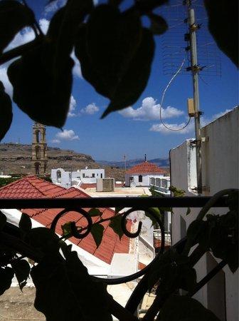Byzantino : Vista dalla terrazza