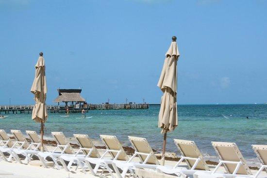 Villa del Palmar Cancun Beach Resort & Spa: Beach area