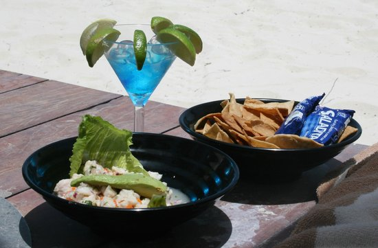 Villa del Palmar Cancun Beach Resort & Spa: Vallarta ceviche...SO good!