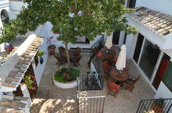 Posada de Quijada: Внутренний дворик