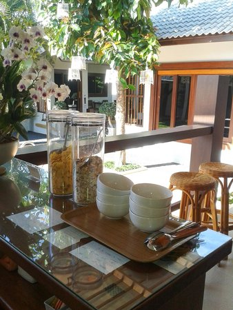 The Nest Samui : Zona de desayuno