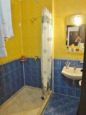 Amaris Hotel: Lille, men OK badeværelse