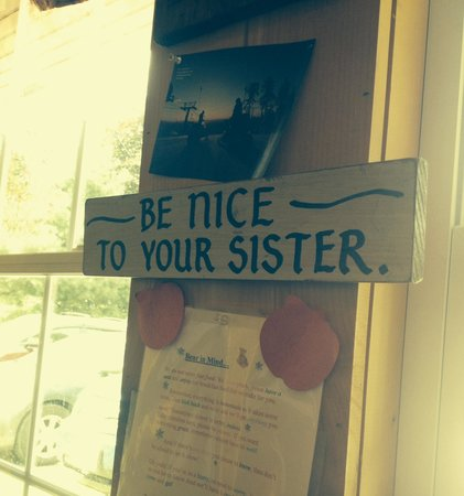 Vermont Apple Pie Bakery and restaurant: Maybe they should take their own advice