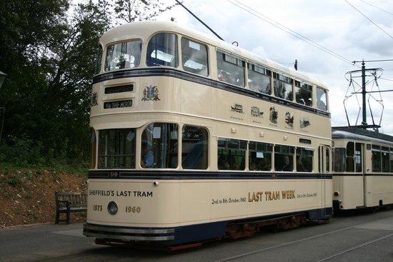 Crich Tramway Village: Sheffield tram