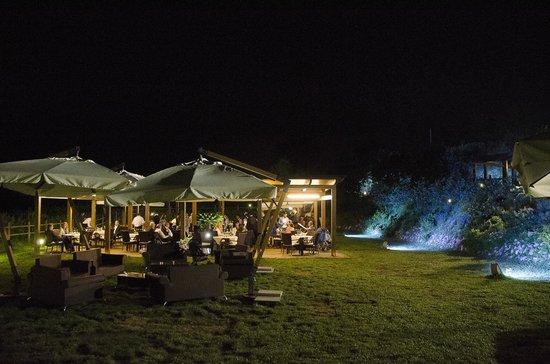 Parcheggio foto di ristorante giardini di kyme pozzuoli