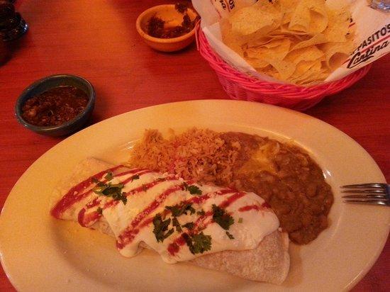 Pappasito's Cantina: Famous chicken burrito