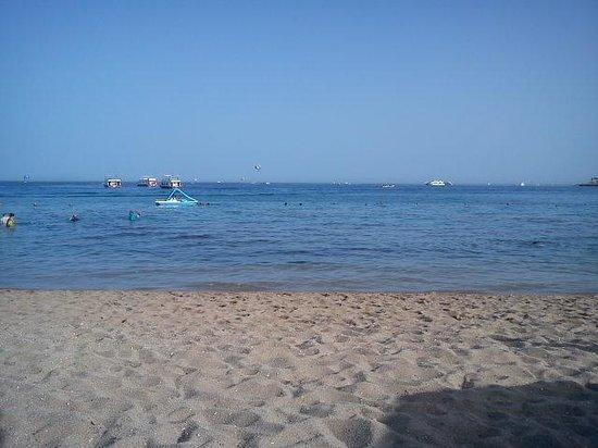 Hotel Novotel Sharm El Sheikh: пляж
