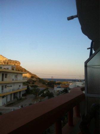 Faliraki Vista Studios: Vista dal balcone