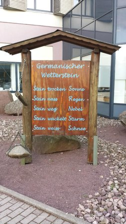 Hotel Ringberg: Weerstation hotel