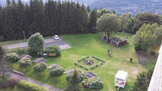 Hotel Ringberg: Uitzicht vanuit kamer 153